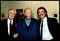 Augusto De Luca, Mario De Biasi e Lanfranco Colombo. 1987.jpg