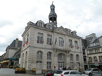 Auray - The town hall