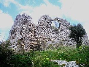 Auriac, Aude - Ruins of the Chateau