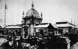 Munich Secession - The National Exhibition Building (ULAP), c.1885