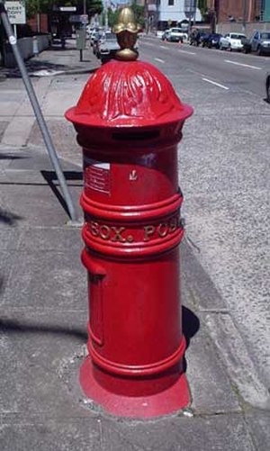 Australia Post - A pillar box in Marrickville, Sydney