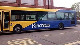 Kinchbus Loughborough bus operator, part of Wellglade