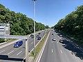 Autoroute A1 vue depuis Pont Avenue John Fitzgerald Kennedy Bourget 1.jpg