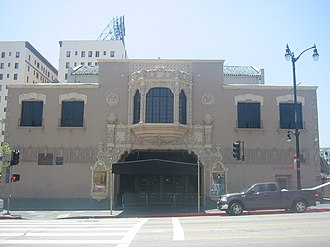Checkers speech - The El Capitan Theatre, now known as the Avalon Hollywood