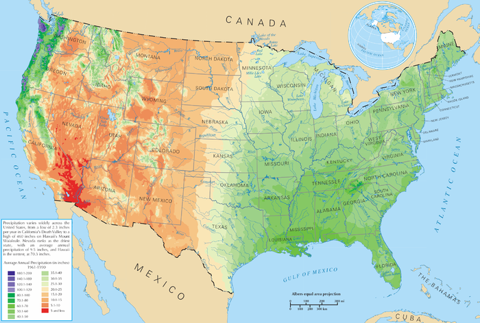 Geography Of The United States Wikiwand - Monta in us map