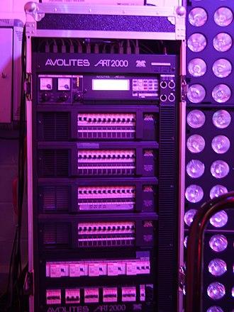 Avolites - Art 2000 dimmer rack.