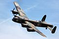 Avro Lancaster - Shuttleworth Military Pageant (11644345684).jpg