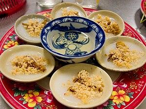 Bánh bèo - Small dishes of bánh bèo