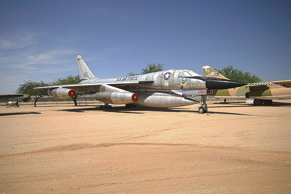 B-58A BuNo 61-2080 - Pima Air & Space Museum in Tucson, Arizona