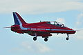 "BAe Systems Hawk 128 T.2 Royal Air Force ""Red Arrows"" XX219 (9704186956).jpg"