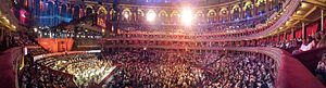 Panorama of the 2015 Proms at the Royal Albert Hall