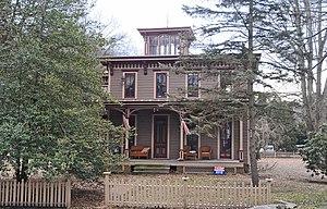 Nescopeck, Pennsylvania - Image: BENJAMIN EVANS HOUSE, NESCOPECK, LUZERNE COUNTY, PA