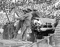 BL 6 inch Mk VII gun and crew Arras 1918 IWM Q 8657.jpg