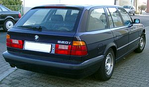 BMW E34 Touring rear 20080212.jpg