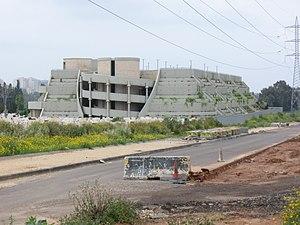 Kiryat Shaul Cemetery - Burial tower
