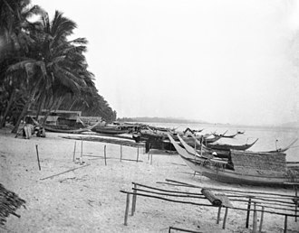 Japanese invasion of Malaya - Bachok Beach, Kota Bharu, July 1941, possibly one of the Japanese landing points.
