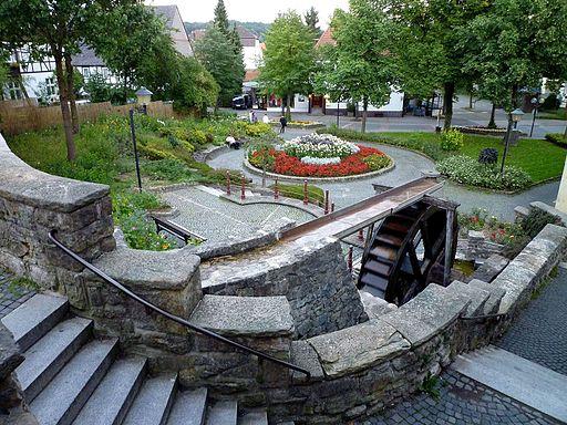 Bad Driburg - Mühlenpforte, Teil der Stadtbefestigung