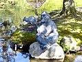 Bad Sassendorf – Bronze-Skulpturen – der alte Netzfischer und seine Beute - panoramio.jpg