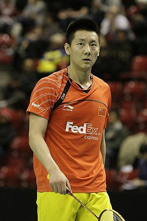 Chen Jin (badminton) - Image: Badminton wilson swiss open 2010 chen jin