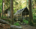 Bagby Hot Springs Cabins-Mt Hood (22828043183).png