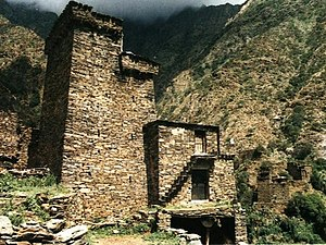 Tower house - Old architecture in Al Baha
