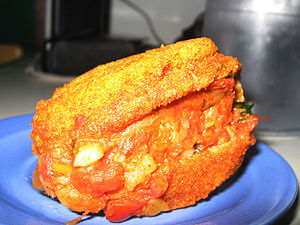 Dough - Acarajé is a fried dough food