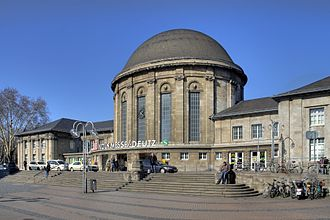 Köln Messe/Deutz station - Köln Messe/Deutz station building