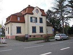 Bahnhofstraße in Raunheim