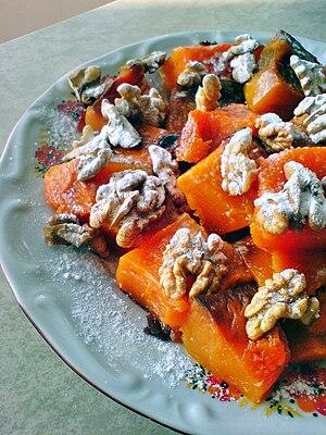 Kabak tatlısı - Image: Baked pumpkin