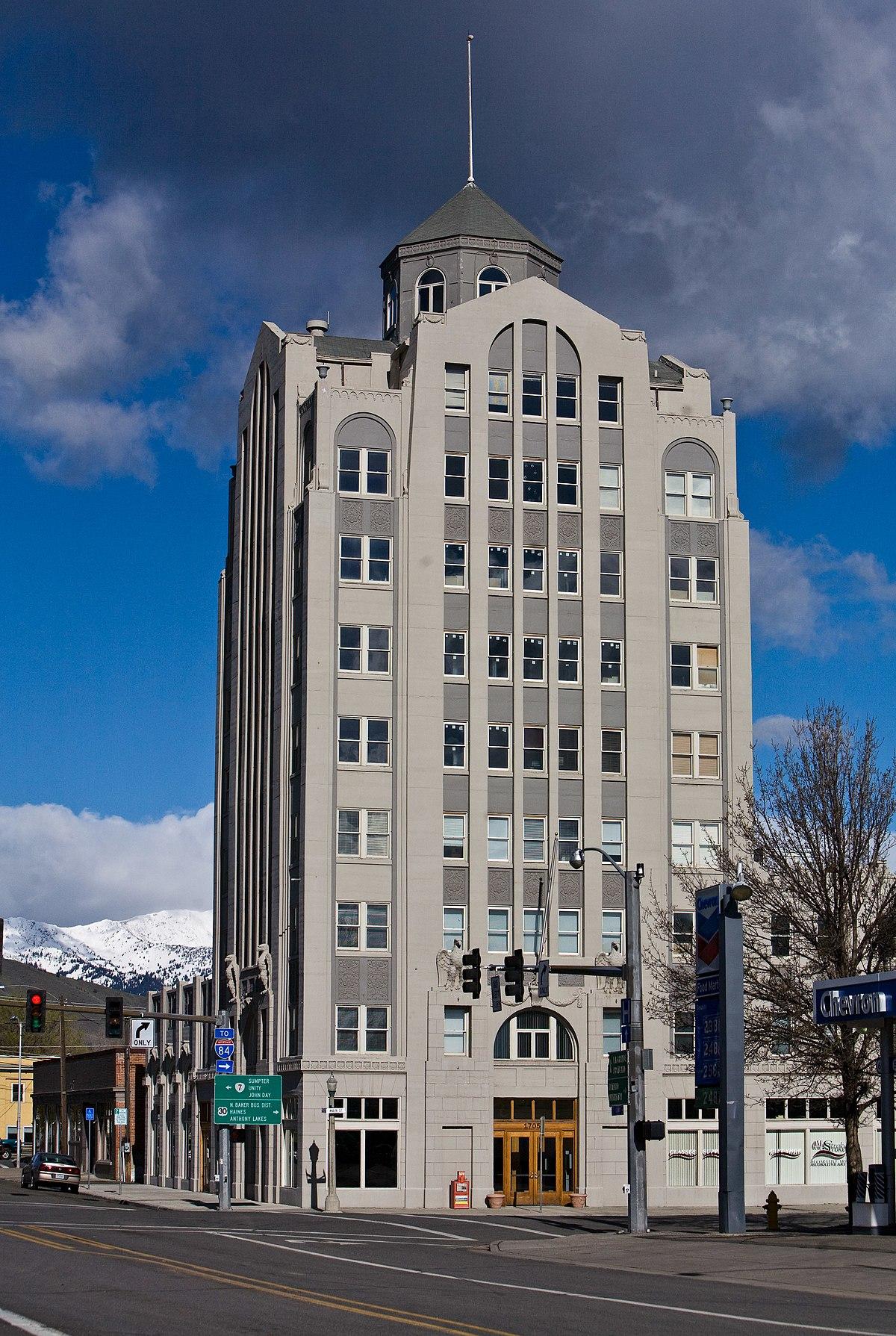 Baker City Tower Wikipedia
