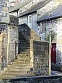 Bakewell - Old Town Hall Steps - geograph.org.uk - 1312080.jpg