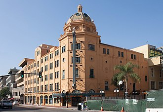 National Register of Historic Places listings in San Diego County, California - Image: Balboa Theatre, San Diego 01