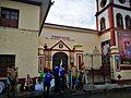 Balladors de los Negritos de Huánuco davant la Parroquia de el Sagrario la Merced el 2017.jpg