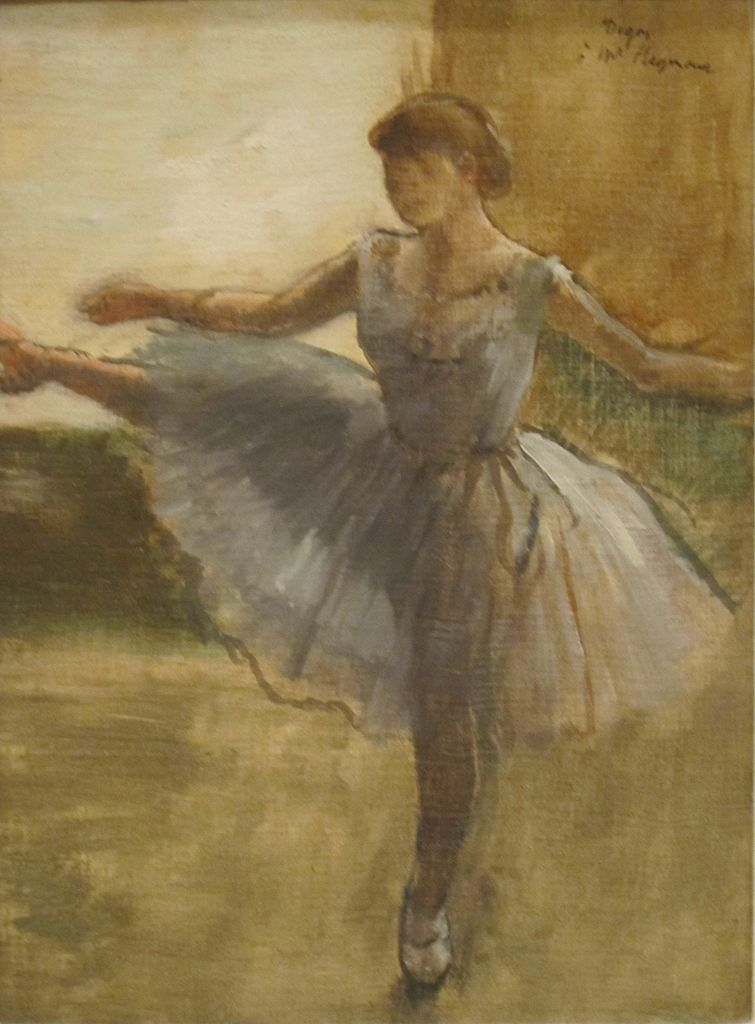 Ballerina Painting In Living Room Of Bewitched