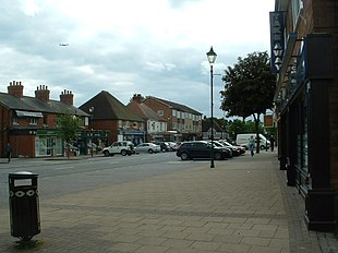 Station Road, the main shopping street