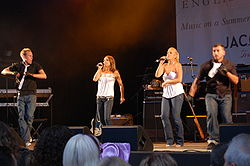 Bananarama v Audley End, Essex, UK, 28.7.2007