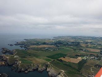 Bangor, Morbihan - Aerial view of Bangor