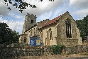 Grade I listed buildings in St Edmundsbury - Image: Barningham Church of St Andrew