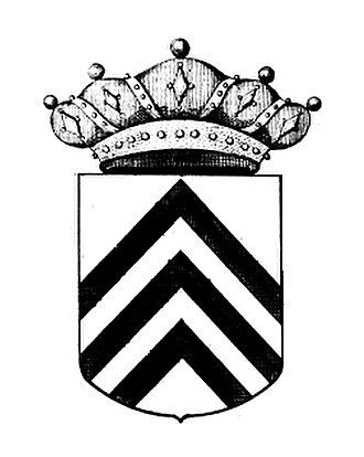 Chevron (insignia) - Image: Baron of Grysperre and Goyck