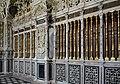 Basilika Seckau, Habsburger Mausoleum, Schrankenarchitektur mit Messingsäulen.jpg