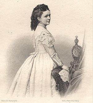 Princess Bathildis of Anhalt-Dessau