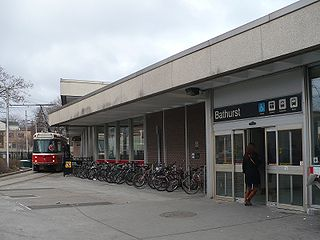 Bathurst station (Toronto) Toronto subway station
