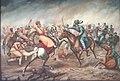 Battle of Sahawa, Rawat Kandhal and Sarang Khan.jpg