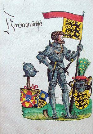 German Peasants' War - Bauernjörg, Georg, Truchsess von Waldburg, the Scourge of the Peasants