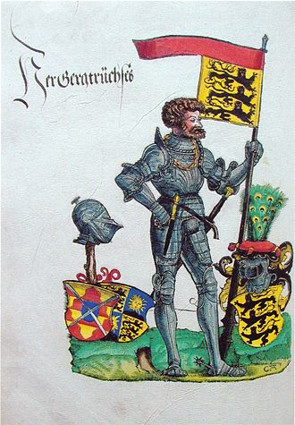 German Peasants' War - Bauernjörg, Georg, Truchsess von Waldburg, the Scourge of the Peasants