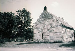 National Register of Historic Places listings in Adair County, Missouri - Image: Bear Creek Church 1