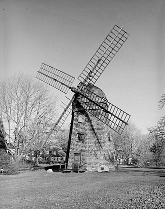 Bridgehampton, New York - Beebe windmill, moved from Sag Harbor to Bridgehampton in the 19th century