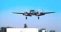 Beech 18 landing (5410542111).jpg