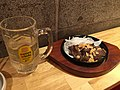 Beef steak, potato salad, pot-au-feu, and highball - Beaf Kitchen Stand, APA Hotel Akihabara shop (2017-04-15 18.31.54 by Naoki Nakashima).jpg