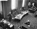 Begroting staatsmijnen Eerste Kamer Minister professor Dr J Zijlstra tijdens v, Bestanddeelnr 910-1613.jpg